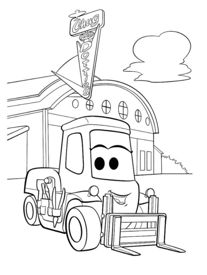Coloriage et dessins gratuits Planes Dottie Pixar à imprimer