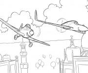 Coloriage dessin  Planes Dusty 34