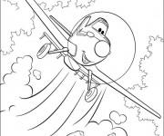 Coloriage dessin  Planes Dusty 6