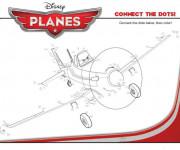Coloriage Planes Dusty à compléter