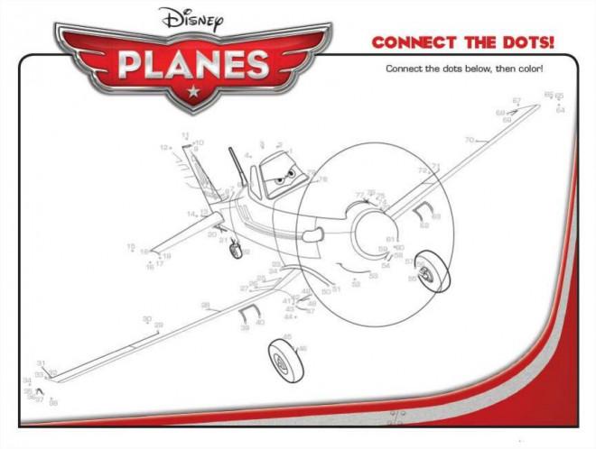 Coloriage et dessins gratuits Planes Dusty à compléter à imprimer