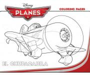 Coloriage Planes El Chupacabra Pixar