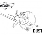 Coloriage dessin  Planes Pixar 3