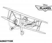 Coloriage dessin  Planes Pixar 5