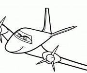 Coloriage Planes Rochelle Facile