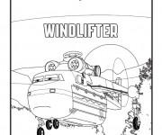 Coloriage Planes Windlifter Pixar