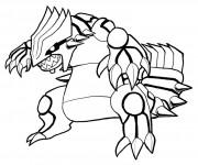 Coloriage dessin  Pokemon Ex 3