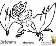 Coloriage dessin  Pokemon Ex 6