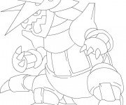 Coloriage Pokémon facile