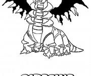 Coloriage et dessins gratuit Pokémon Giratina à imprimer