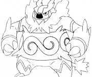 Coloriage Pokémon Mega Evolution en couleur