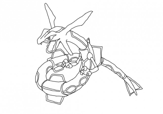Coloriage Pokemon Ohmassacre Dessin Gratuit A Imprimer