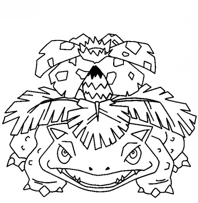 Coloriage et dessins gratuits Pokémon Venusaur Ex à imprimer