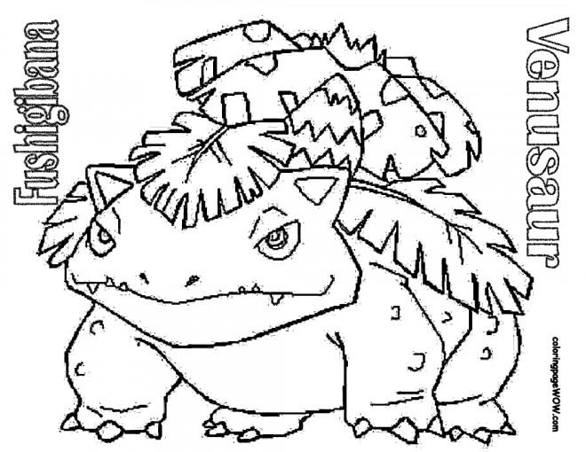 Coloriage et dessins gratuits Pokémon  Venusaur Xy à imprimer