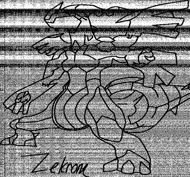 Coloriage et dessins gratuits Pokémon Zekrone dessin animé à imprimer