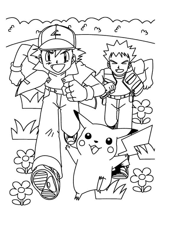 Coloriage et dessins gratuits Les Pokémons Cartoon à imprimer