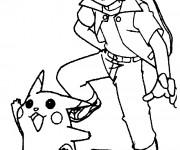 Coloriage Les Pokémons stylisé