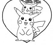 Coloriage Pika Pika Pikachu