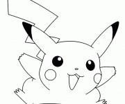 Coloriage dessin  Pikachu 13