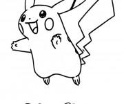 Coloriage dessin  Pikachu 16