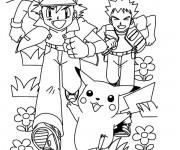 Coloriage dessin  Pikachu 35