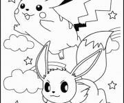Coloriage Pokemon Pikachu Gratuit A Imprimer Liste 20 A 40