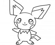 Coloriage et dessins gratuit Pikachu pour enfant à imprimer