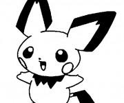 Coloriage et dessins gratuit Pokémon Evoli à imprimer