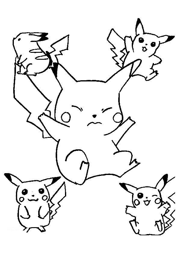 Coloriage et dessins gratuits Pokémon Méga à imprimer