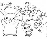 Coloriage Pokémons Légendaire en couleur