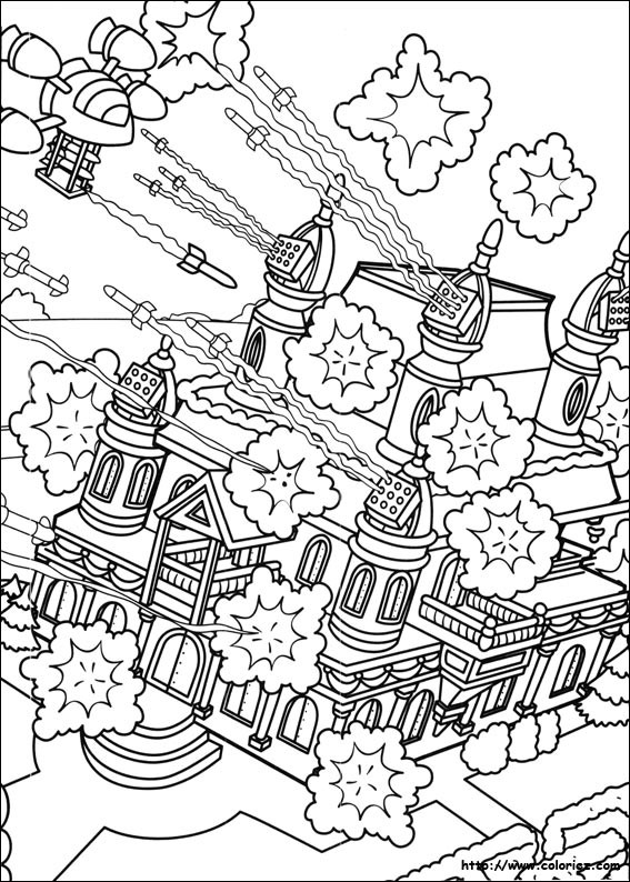 Coloriage et dessins gratuits Adulte Bataille à imprimer