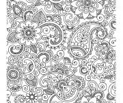 Coloriage et dessins gratuit Adulte destressant à imprimer