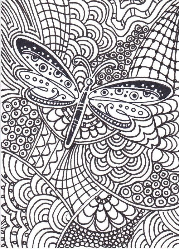 Coloriage et dessins gratuits Insectes Pour Adultes couleur à imprimer