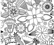 Coloriage Paysage Adulte Anti-stress