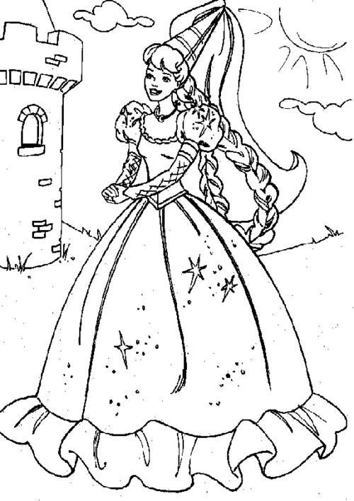 Coloriage et dessins gratuits Barbie et le secret des fées à imprimer