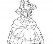 Coloriage dessin  Madame Princesse 14