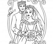 Coloriage dessin  Mariage 29