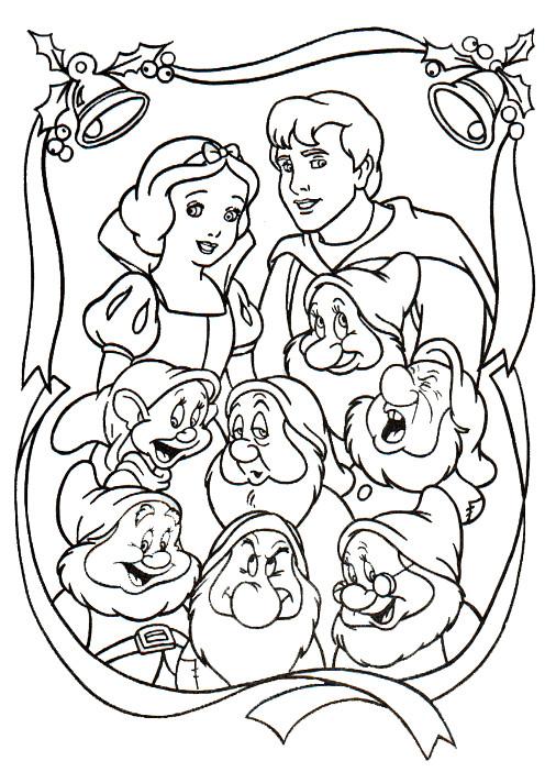 Coloriage et dessins gratuits La famille de blanche à imprimer