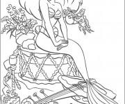 Coloriage Disney Ariel La Princesse de Mer