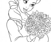 Coloriage Princesse Disney Ariel