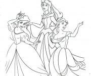 Coloriage Princesse Ariel animation