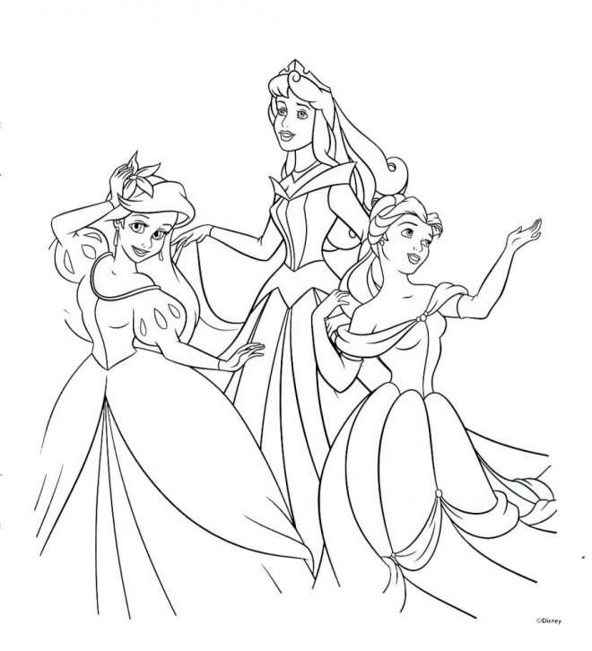 Coloriage et dessins gratuits Princesse Ariel animation à imprimer