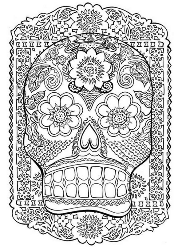 Coloriage et dessins gratuits Psychédélique couleur à imprimer