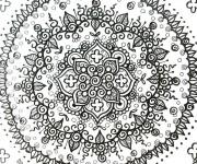 Coloriage et dessins gratuit Anti-Stress 68 à imprimer