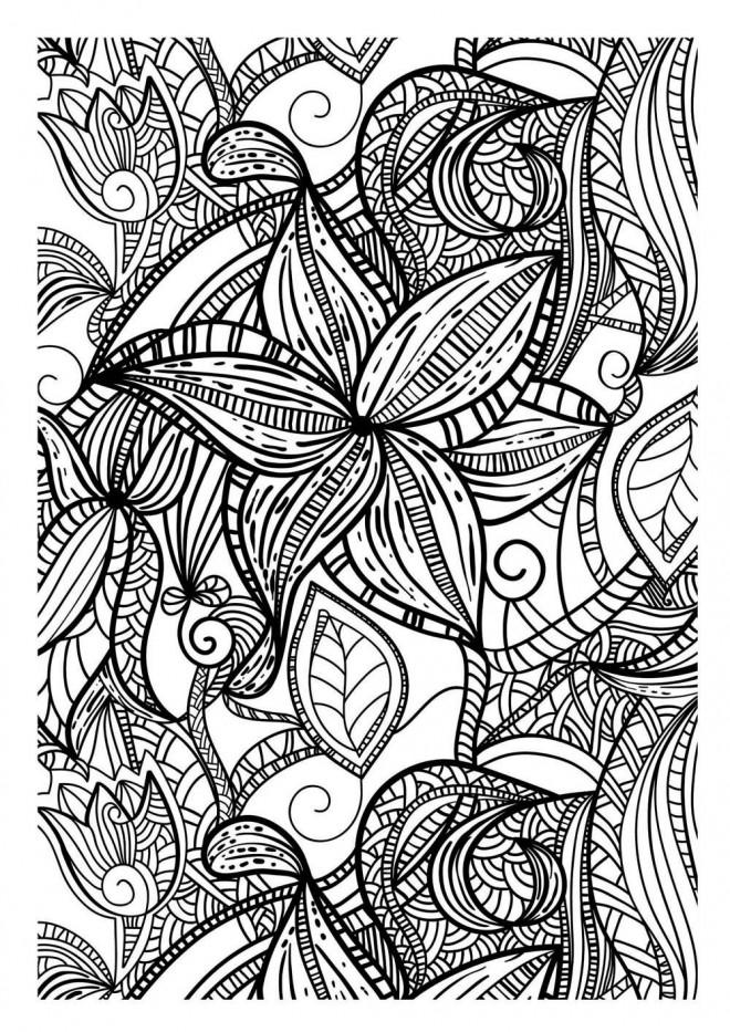 Coloriage et dessins gratuits Mandala Adulte en ligne à imprimer