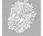 Coloriage et dessins gratuit Psychedelique 5 à imprimer