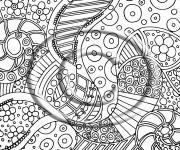 Coloriage et dessins gratuit Psychédélique à télécharger à imprimer