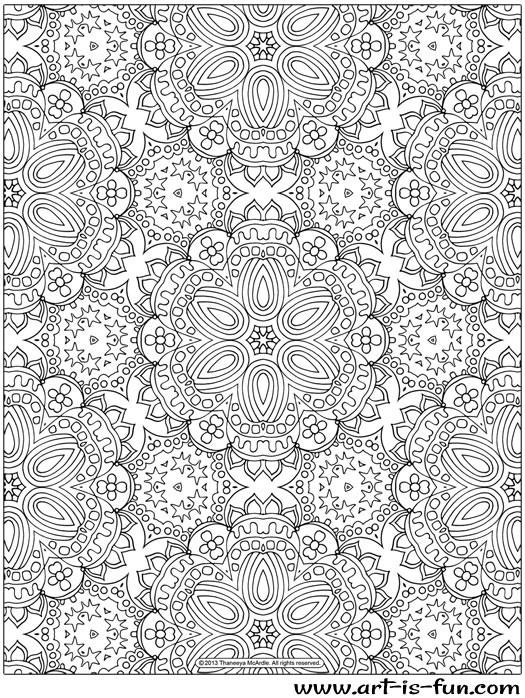 Coloriage et dessins gratuits Psychédélique pour les Grands à imprimer