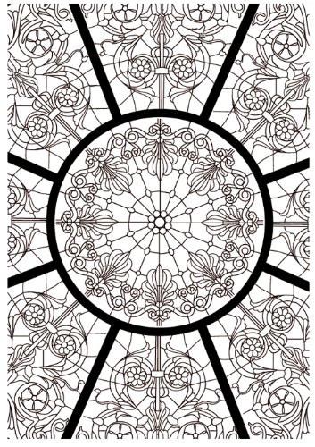 Coloriage et dessins gratuits Psychédélique  Vecteur à imprimer