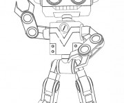 Coloriage et dessins gratuit Bébé Lilly robot à imprimer